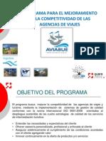 Programa Competitividad Agencias de Viajes