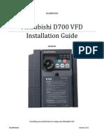 Mitsubishi VFD Installation Guide