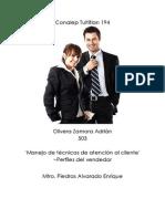 aolivera_Identificasción de los perfiles de los vendedores en la atenciuón al cliente
