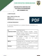 Plan de Area Castellano SIMON BOLIVAR