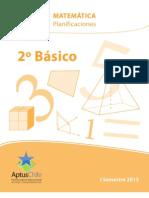 2_Básico_Matemáticas. Planificaciones