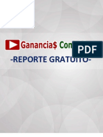 Reporte GRATIS Ganancias Con Videos