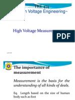 Lecture HV Measurement++