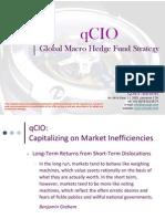 qCIO Global Macro Hedge Fund Strategy - September 2013
