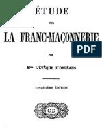 Etude Sur La Franc-maconnerie Dupanloup