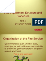 PS HSES 4 FireDepartmentStructureAndProcedurePowerPoint