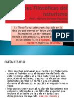 Bases Filosóficas del naturismo 2013 tema 2 22