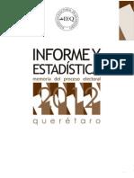 Informe y Estadística Proceso Electoral 2012