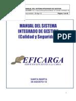 Manual de Sistema Integrado de Gestion