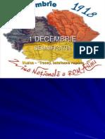 1 Decembrie 1918.Power Point