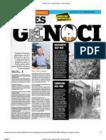 Nuestro Diario, Mayo 19, 2013 - CASO GENOCIDIO