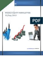 Weekly Equity Newsletter 2-September