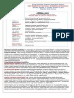 2013 SUGUNA Conference Agenda and site description