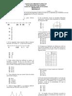 Examen Diagnostico Mate II Agosto 2013