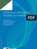Guide de La Ventilation Naturelle Et Hybride VNHy AVEMS