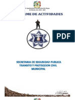 Actividades de Seg. Pub. Mpal. Atoyac de Alvarez, 2013 - 2015