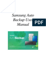ENG_Samsung Auto Backup User Manual Ver 2.0