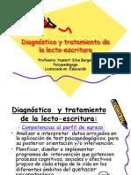 Diagnóstico y tratamiento de la lecto-escritura ipla