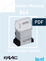 Motorized Gate FAAC