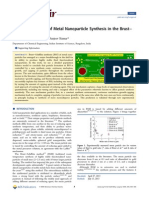 Mechanism of Metal Nanoparticle Synthesis in the Brust-Schiffrin Method 2013