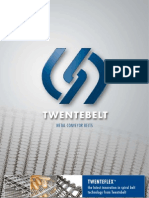 Metal Conveyor Belts TwenTeFlex TM the Latest Innovation In