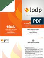 Booklet PDP Departemen keuangan