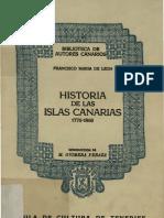 Historia de la islas canarias