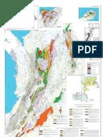 Mapa Metamorfico de Colombia. INGEOMINAS 2001