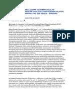 Problematika Pembelajaran Matematika Dalam Pelaksanaan Kurikulum Tingkat Satuan Pendidikan