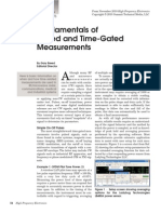 Fundamental of Time Gated Measurement