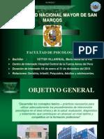 INTERNADO PSICOLOGÍA HOSPITAL FAP 2011