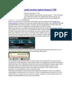 Cara Membuat Koneksi Modem Ngebut Dengan CMD