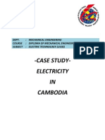 Cambodia - Electricity