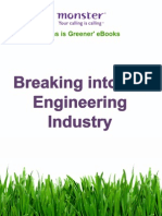 Breaking Into the Engineering Industry