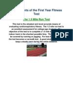 componentsofafitnesstest