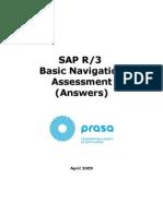 SAP Nav Assessment Answers