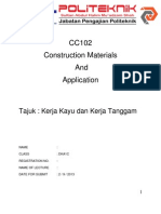 CC102 Construction Materials and Application Kayu Tanggam Folio