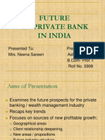 Future of Private Sector Banks in India