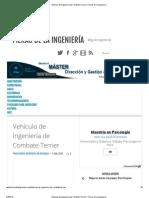 Vehículo de Ingeniería de Combate Terrier _ Fieras de la Ingeniería
