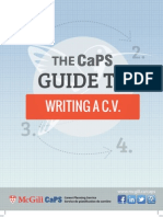 CV Writing Color