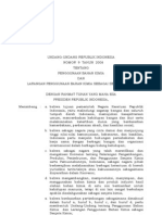 UU No 9 Tahun 2008 Ttg Penggunaan Bahan Kimia