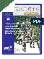 Gaceta CCH - Vallejo 1147