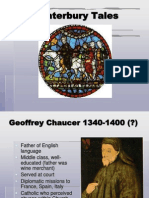 Chaucer and Canterbury Tales