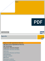 SAP Organizational Structure