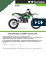 Kawasaki KX100DCF