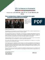 La Semana en Guatemala 2012 / feb 7 - 13