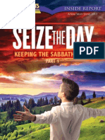 April, May, June 2013 [Seize the Day - Keep the Sabbath Holy (Part 1)]