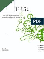 Química Santillana Perspectivas (Estructura, comportamiento y transformaciones de la materia)