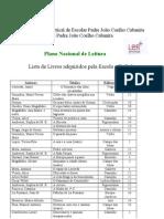 Lista de Livros PNL 09