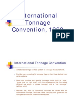 International Tonnage Convention